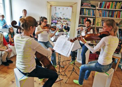Quartett plus 1 Foto:Moras